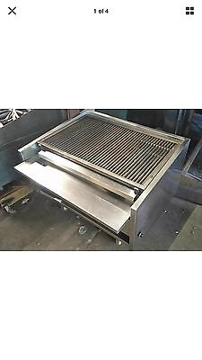 Charcoal Grill Archway Commercial Short Grill
