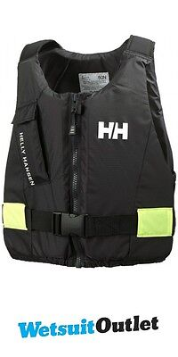 2017 Helly Hansen 50N Rider Vest / Buoyancy Aid Ebony 33820
