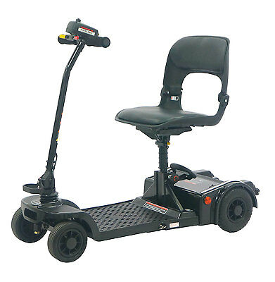 PRO RIDER Deluxe Folding Mobility Scooter Black *FITS IN MOST CAR BOOTS*