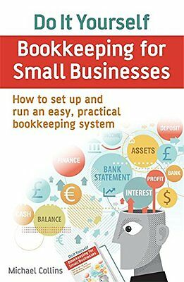 Do It Yourself BookKeeping for Small Businesses New Paperback Book Michael Colli