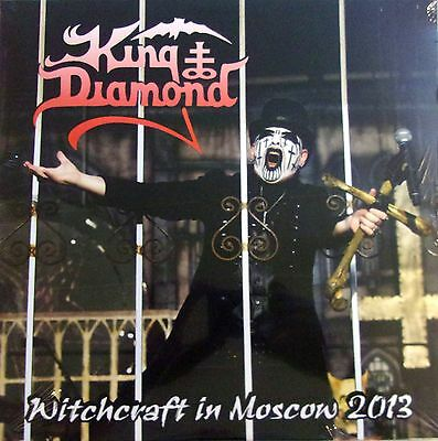 KING DIAMOND 2LP VINYL- witchcraft in Moscow 2013 - LIMITED EDITION