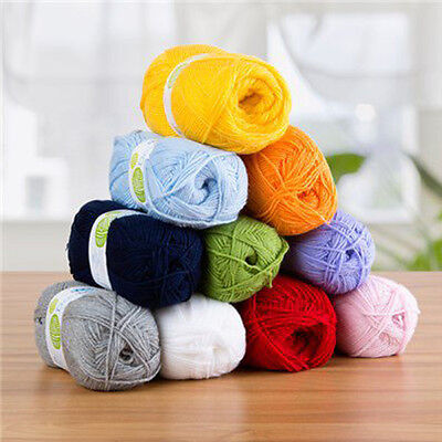 ROBIN DOUBLE KNITTING DK Wool Yarn - 100g -100% Acrylic - 48 COLOURS