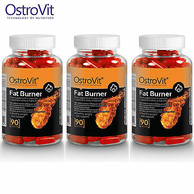 FAT BURNER 90-270 CAPS. Burn Fat For Energy & Preserving Muscle * Improve Focus