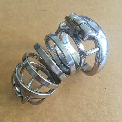 NO PADLOCK 2016 New Stainless Steel Male Chastity Device