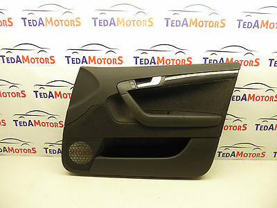 Audi A3 8P '04-12 Front Right Driver Side Door Card 8P4867106