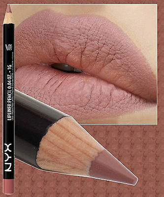 Nyx Slim Lip Pencil Liner ~ Natural ~ Deep Toned Nude Beige ~ Spl810