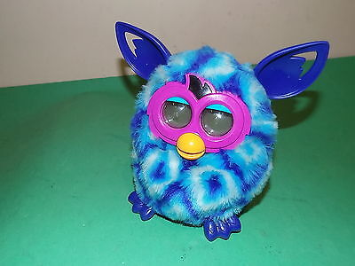FURBY BOOM Electronic Talking Pet 2013 Blue Turquoise Hasbro Fast to Send