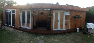 portable cabin, portable building, garden office, portable office, garden room