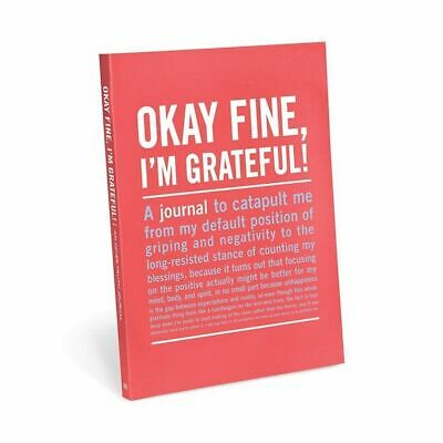 Okay Fine, I'm Grateful Mini Inner Truth Journals by Knock Knock