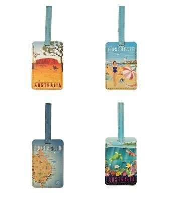The Australian Collection Luggage Tag - Outback, Beach and Reef