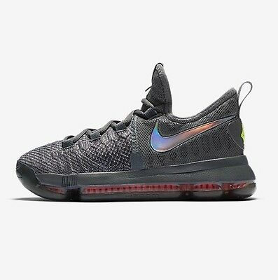 a7b4834d34ba NIKE ZOOM KD 9 KD9 Kevin Durant TS Time To Shine 869997 013 GS Youth ...