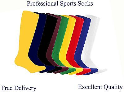 FOOTBALL SOCKS RUGBY HOCKEY SOCCER FREE DELIVERY Unisex