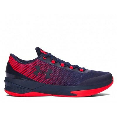Scarpa basket Under Armour Charged Controller Low Rosso