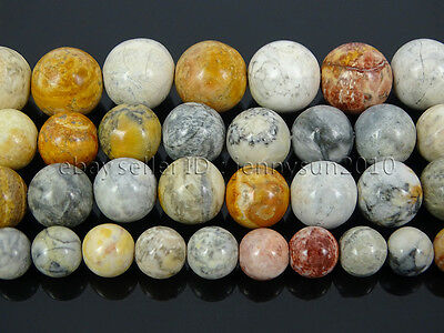 Natural Sky Eye Jasper Gemstone Round Spacer Beads 15.5'' 4mm 6mm 8mm 10mm 12mm