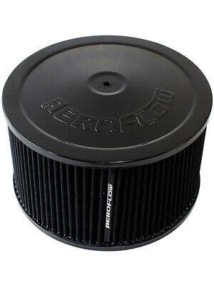 """Aeroflow Air Filter Assembly 9"""" x 5"""", 5-1/8"""" Neck, Washable (AF2251-1365)"""