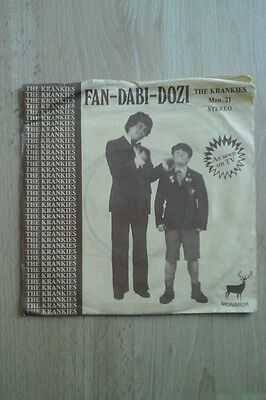 "The Krankies Fan Dabi Dozi 7"" Single - Picture Sleeve . Mon 21"