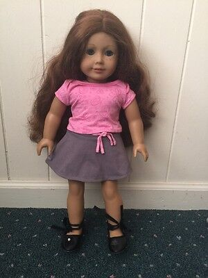 American Girl Doll 18 inch And Spring Outfit
