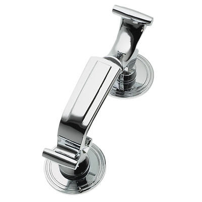 LARGE DOCTOR DOOR KNOCKER | Quality Heavy Duty | CHROME | Classic & Traditional