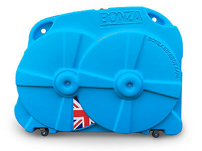 Bonza Bike Box II - Hard Travel Case (Blue)