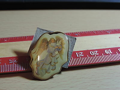 Angel with Peace Dove  Lapel Hat Pin 14E