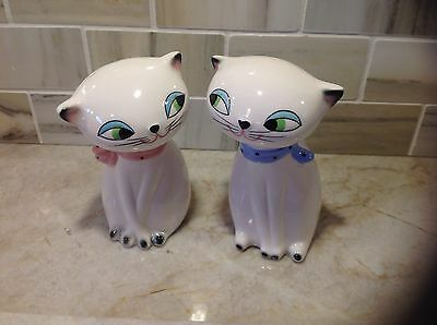 Vintage 1958 Holt Howard Cats Shakers Japan