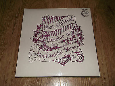 West Cornwall Museum Of Mechanical Music ~ Saydisc Vinyl Lp Ex/ex 1973