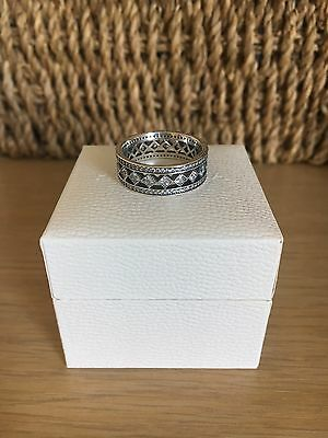 Brand New Solitaire Shine Pandora Ring S925 ALE.Size 58
