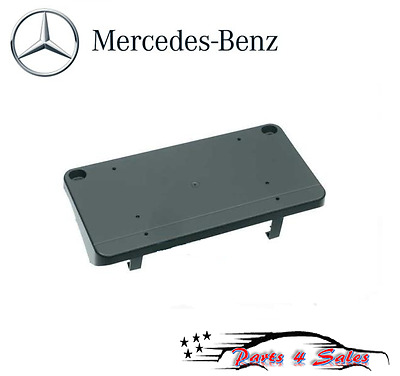 For Mercedes A209 C209 CLK-Class Front License Plate Base Genuine 2098850981