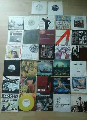 """32 Indie / Britpop 7"""" Singles . All Listed & Pictured"""
