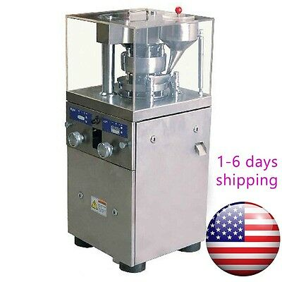 ZP 9 Press Machine,Free Punch Rotary Tablet Dies Molds,DHL shipping Free from US