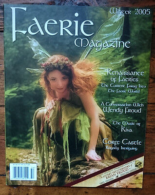 Faerie Magazine Issue 4 Winter 2005 Brian Froud Twig the Fairy Fantasy Art NEW