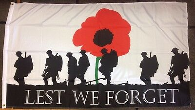 36Th (Ulster) Division / Battle Of Somme / Lest We Forget / 5X3 Foot Flag