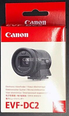 New Canon Electronic Viewfinder EVF-DC2 (Silver) in stock USA for EOS M3, EOS-M6