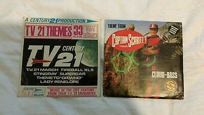 Captain Scarlet Theme & Tv 21 Themes Records