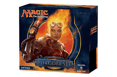 M14 MAGIC 2014 CORE - fat pack - new sealed 9 boosters CANADA SELLER