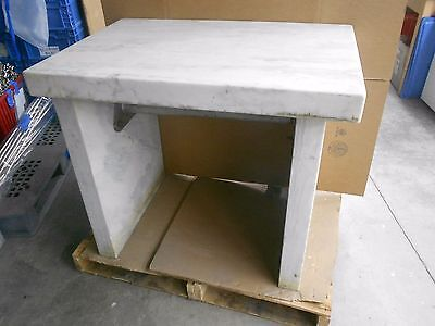 """24"""" X 35"""" X 31¾"""" Marble Vibration Isolation Table With 3"""" Thick Slabs"""