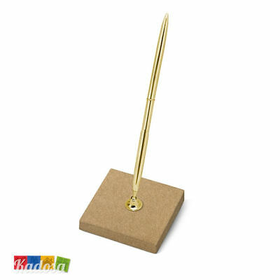 Base Penna Matrimonio Country Oro - Wedding Pen Stand Gold Edition Guest Book