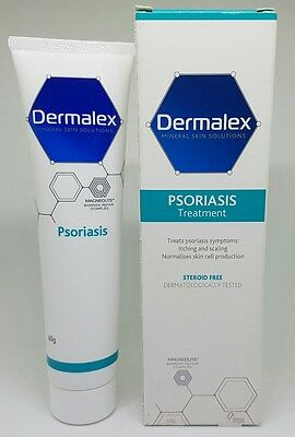 Dermalex Skin Treatment Cream For Psoriasis Steroid Free - 60g exp 2018