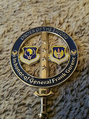 General Gorenc Order of the sword coin