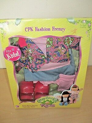 2006 Cabbage Patch Kids *cpk Fashion Frenzy* Outfit By Play Along. Sealed Nos.