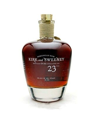 Kirk and Sweeney 23 Years Dominican Rum - 40%/ 0,7l TOP !!