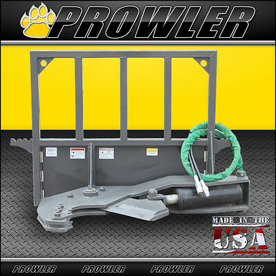 """Prowler Non-Rotating Tree Shear Skid Steer Attachment - 12"""" Inch Cut"""