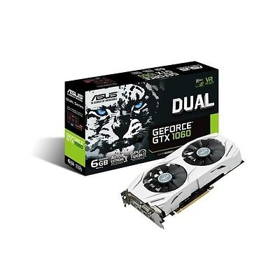 Asus Carte graphique GeForce GTX 1060 DUAL 6G 6Go GDDR5