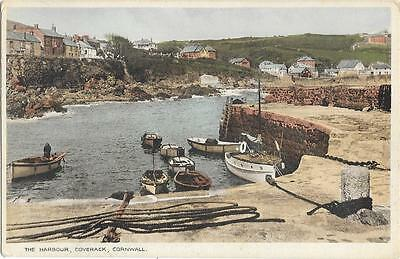 218  PC  THE HARBOUR COVERACK CORNWALL UNPOSTED c1910