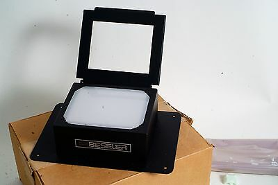 Beseler Diffusion Illumination Chamber #4112 DarkRoom Enlarger 4x5 large (087)