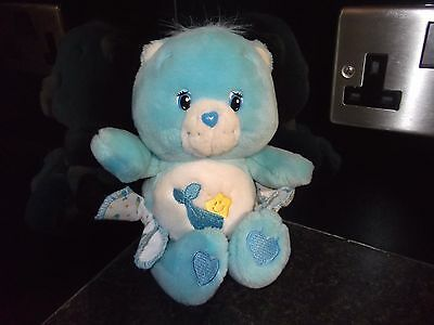 CARE BEAR BABY TUGS FROM 2004 APPROX 9 INCHES IN HEIGHT weighted bear