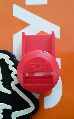Fox Racing Instinct/Comp 8 Boot Strap spare Pass strap holder RED