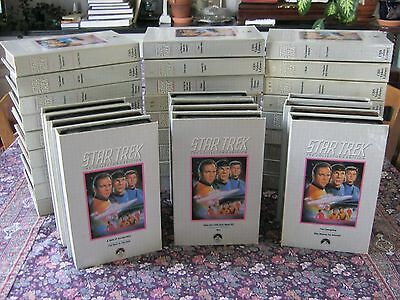 "****complete ""star Trek"" Collector's Edition - 39 Vhs Movies****"