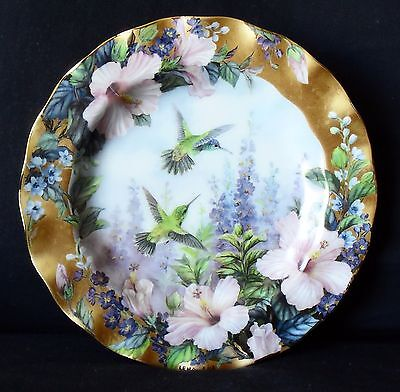 Lena Liu's Delicate Treasures - Tiny Treasures - Hummingbird Plate - Bradford Ex