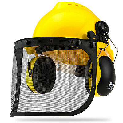 Neiko 4 In 1 Professional Safety Helmet Set | Construction Full Protection